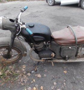 мотоцикл ковровец 1960 г