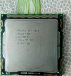 Процессор Intel Core i7-860 2.8GHz 2.5GT/s 8Mb 2xD