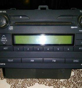 Магнитола на Toyota Corolla E150