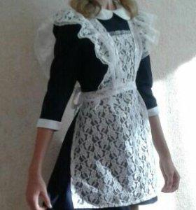 Школьное платье 38р-р