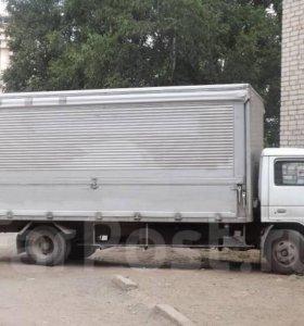 Грузоперевозки фургон, бабочка. 5 тонн,30 кубов.