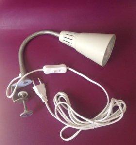 Лампа с зажимом Икея
