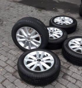 Новые оригинальные колёса в сборе Kia Cerato r16