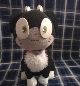 кот куро из аниме синий экзорцист