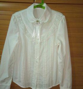 Школьная блузка р.146
