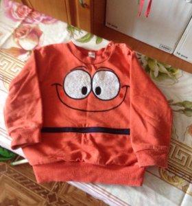 Кофта и рубашка