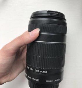Объектив Canon ef-s 55-250 mm f/4-5.6 is ii