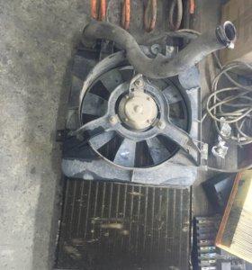 Радиатор с вентилятором 2110
