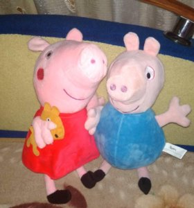 Игрушки свинка пепа