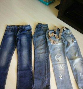 Мужские джинсы р.32