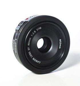 Продам объектив canon 40 2.
