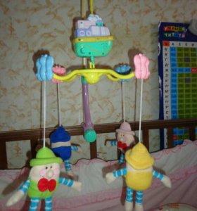 Музыкальная игрушка,Мобиль на подвесе