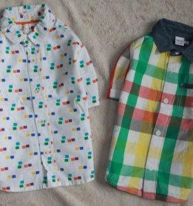 Комплект рубашечка на 2-3 года.
