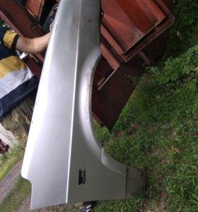 Заводские крылья на ваз 21114