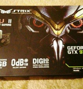 Asus GTX 970 strix 4GB на гарантии