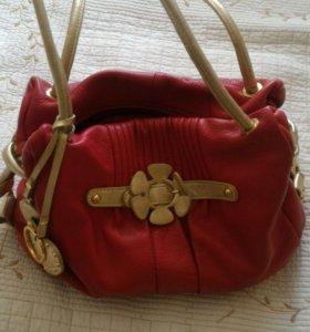 Кожаная сумка ,очень качественная