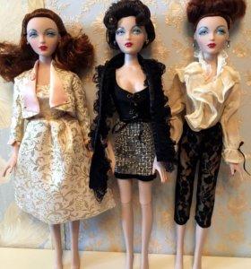 Лот 3 куклы Джини Маршалл Gene Marshall