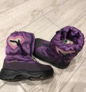 Ботинки зимние scandia-tex новые
