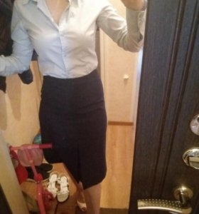 Рубашка с юбкой