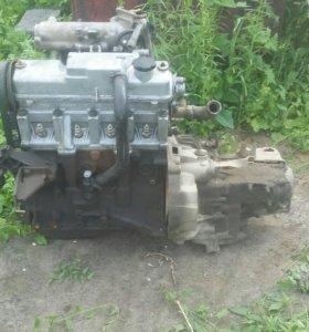 Двигатель на ваз и кпп