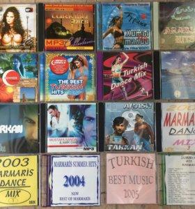 Набор дисков с турецкой и арабской музыкой (16 шт)