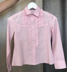 Блуза для школы разм.134-140