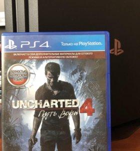 Uncharted 4, игра ps4