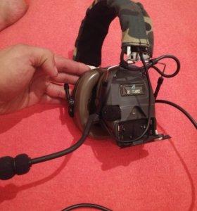 Военные радио наушники