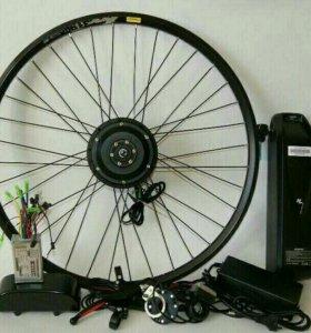 Электромотор для велосипеда комплект