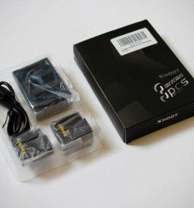 Аккумуляторы для GoPro HERO 5/6 Black (3 шт.)
