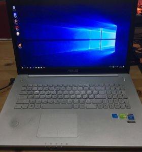 Ноутбук ASUS N750J