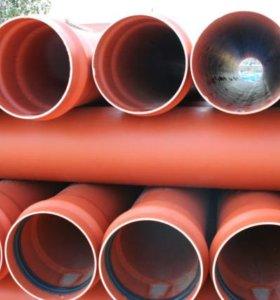 Канализационная труба пвх, 160 мм, 3 метра и 6 мет