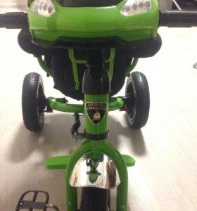 Детский велосипед-коляска Lamborghini