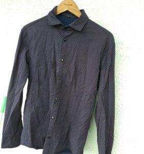 Рубашка мужская рукав длинный