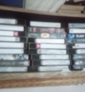 Видеокассеты vhs 2,3,4часа