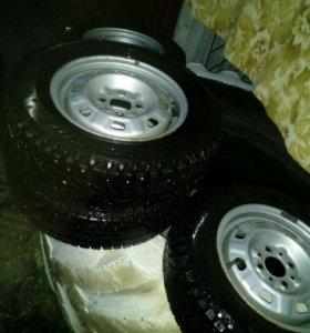 Четыре колеса зимние