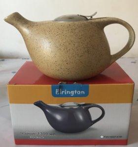 Стильный керамический заварочный чайник Elrington