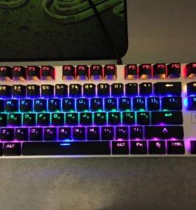 Игровая механическая клавиатура Rapoo V500S alloy
