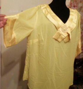 Блузка новая 50-52разм.
