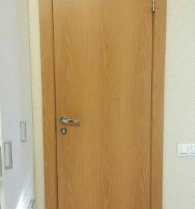 Дверь межкомнатная б/у. Полотно на 600мм
