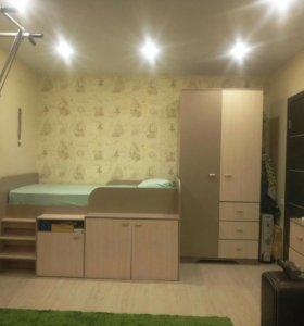 Детская кровать, спальное место 200x90