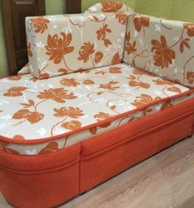 Одноместный раскладкой диван