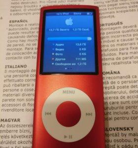 Apple iPod nano 4. 16Gb. Product red.