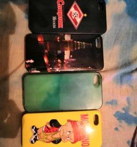 Чехлы на айфон 5-5s