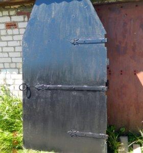 Двери металлические под старину