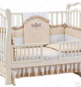 Набор детского постельного белья бортики Giovanni