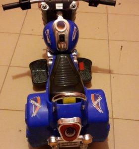 Мотоцикл на аккумляторе