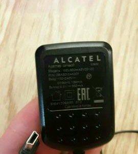 зарядные устройства Алкатель
