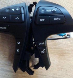 Кнопки на руль Тойоты