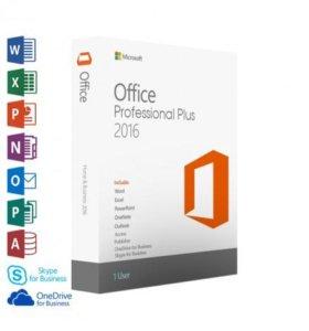Лицензионный MS Office 2016 Professional Plus